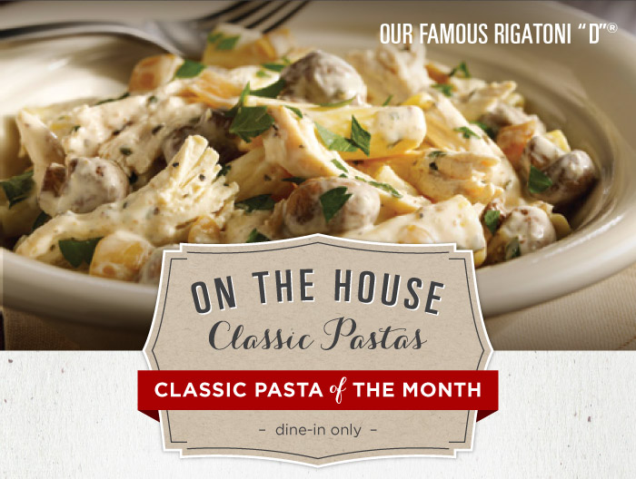 On the House Classic Pastas